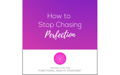 How to Stop Chasing Perfection