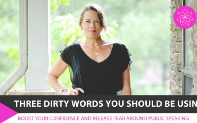 Three dirty words you SHOULD be using